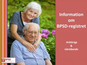 Info BPSD-registret anhöriga