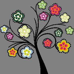 blomträd